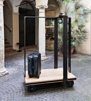 Carro porta equipajes de diseño