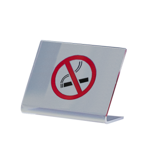 Símbolo para la mesa de plexiglas.
