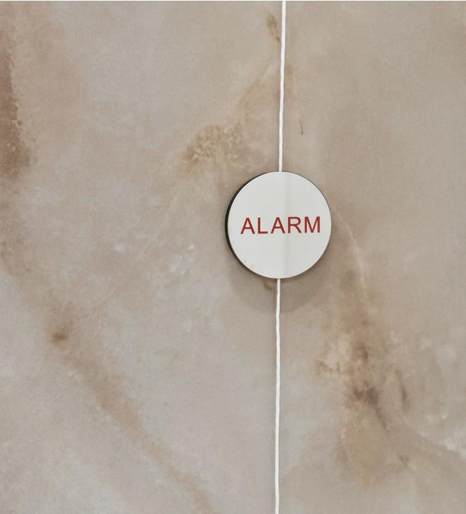 Señal de alarma para la ducha