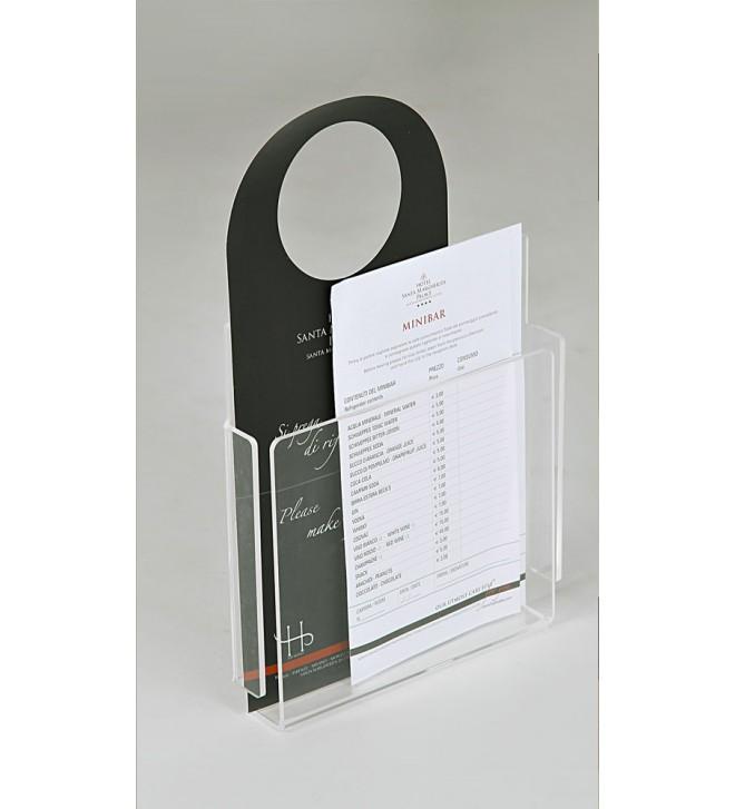 Soporte para objetos e información, disponible en 3 dimensiones