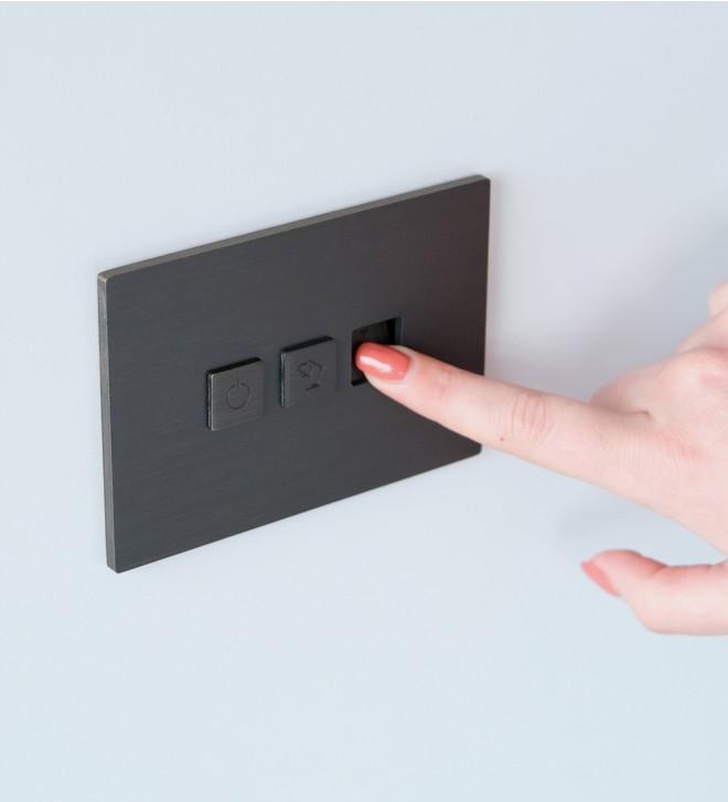 Mecanismo de pared con botones