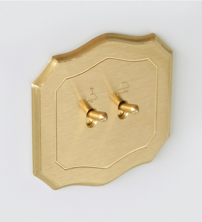 Mecanismo forma barroca con manecilla