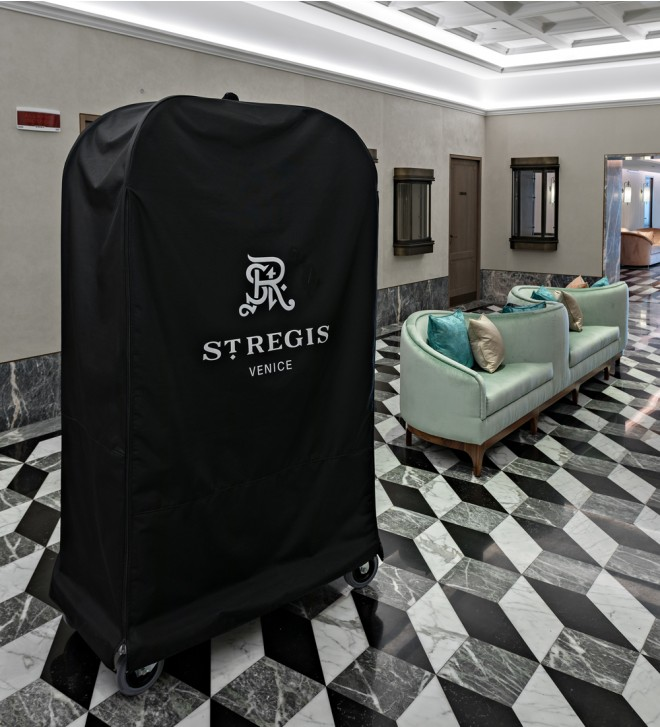Cubierta carrito hoteles
