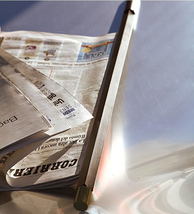 Varilla para periódicos