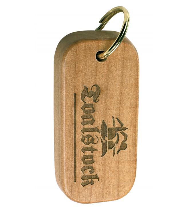 Llavero de madera.