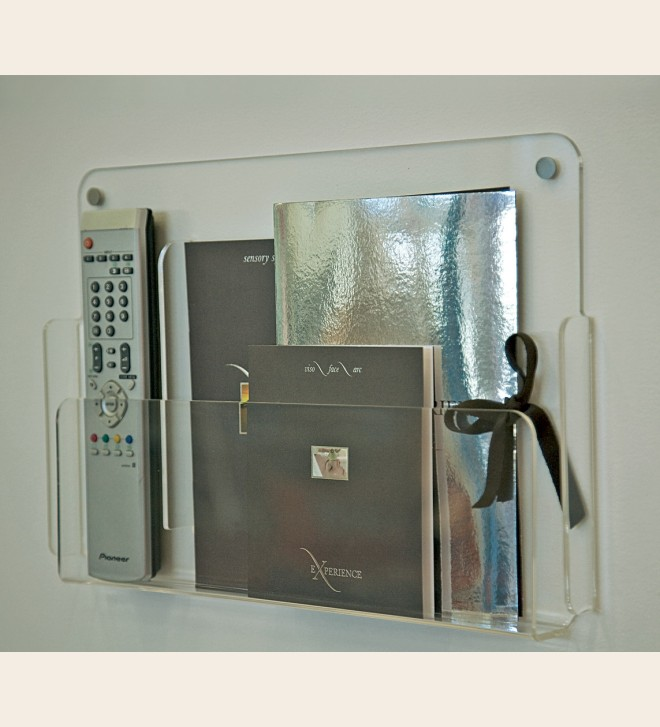 Soporte para objetos e información, disponible en 3 dimensiones.