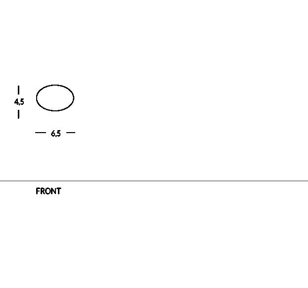 Placa de identificación para el personal, en latón o aluminio, de forma ovalada, personalizable con logotipo. Enganche magnético.