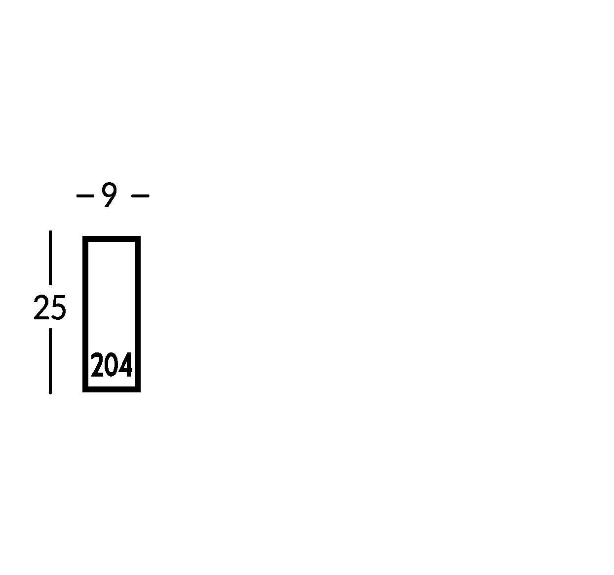 Señalética en plexiglas blanco o negro. Placa de aluminio o latón cepillado con letras de plexiglas