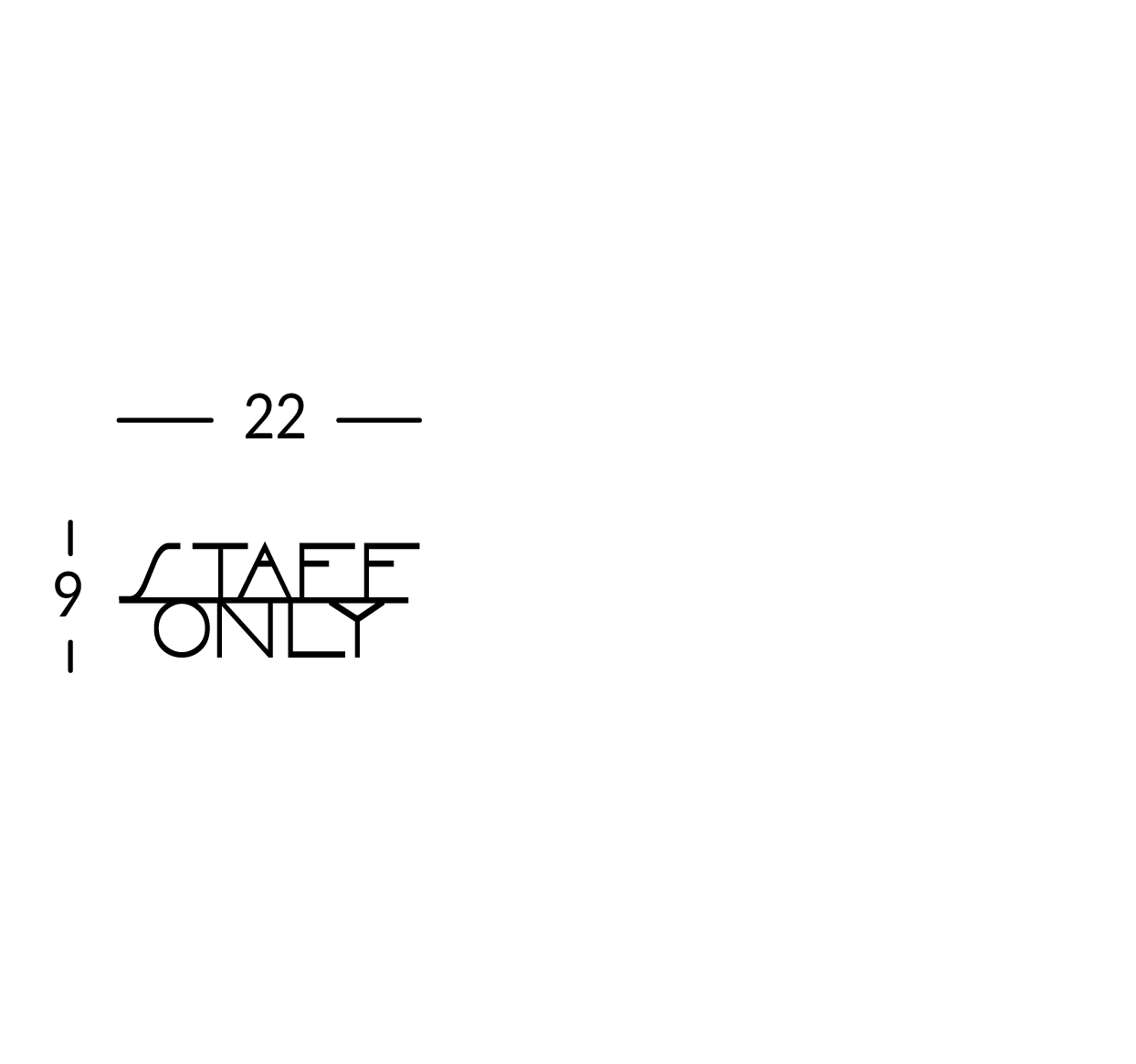Inscripción grabada para la puerta, máximo 10 caracteres. Línea Sav.