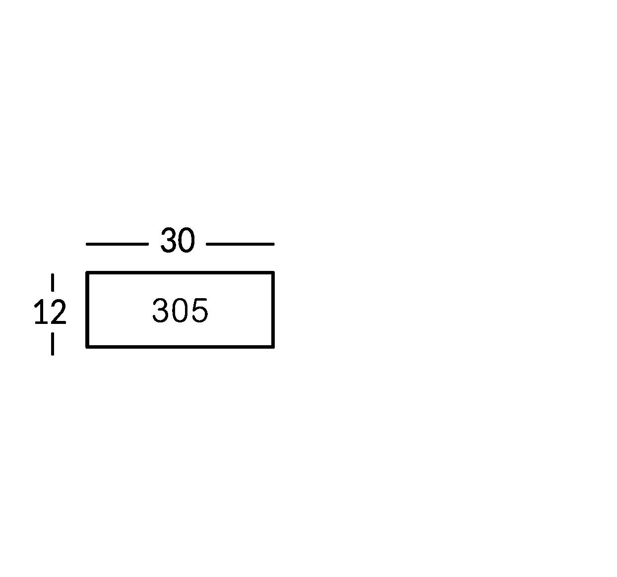 Línea de carteles en latón envejecido, grabado con letras.