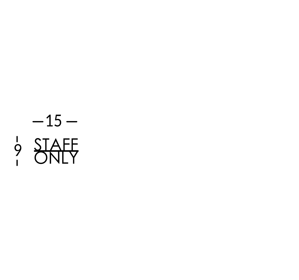 Inscripción grabada para la puerta, máximo 10 caracteres. Línea Soho.