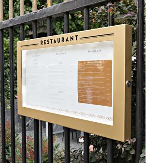 Accesorios para restaurante