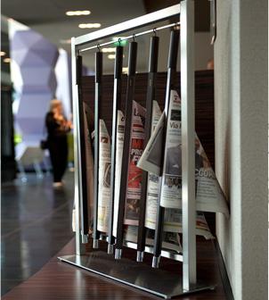 Portaperiódicos y revistas